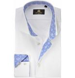Circle of Gentlemen Overhemd darnel twill print contrast slim fit