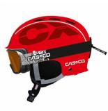 Casco Skihelm cx-3 junior red-50 -