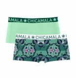 Muchachomalo Ladies 2-pack short like based life