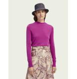 Maison Scotch 160398 lightweight knit with fitted waist