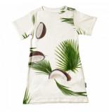 Snurk T-shirt dress kids coconuts-maat