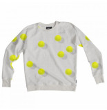 Snurk Sweater men tennis balls-l