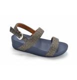 FitFlop Lottie glitter stripe bak trap sandals