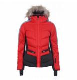 Icepeak Ski jas women electra coral red-maat
