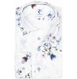 R2 Westbrook Heren overhemd flora print modern fit