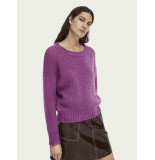 Maison Scotch 159223 soft knitted crewneck pull