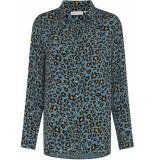 Fabienne Chapot Fez blouse dusty blue black