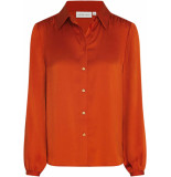 Fabienne Chapot Mira solid blouse rust