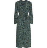 Fabienne Chapot Isabella dress dusty blue & black