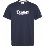 Tommy Hilfiger Dm0dm08797 tommy t-shirt c87 twilight navy tommy jeans