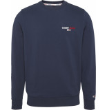 Tommy Hilfiger Dm0dm08729 chest graphic c87 twilight navy sweater tommy jeans