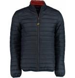 Bos Bright Blue Puff jacket 20301ja03bo/290 navy
