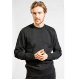 Butcher of Blue Peck crew sweater off black -