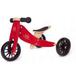 Kinderfeets Loopfiets tiny tot cherry red