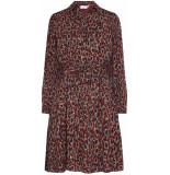 Fabienne Chapot Country dress rust & bordeaux