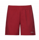 Head Tennisbroek women shorts club red-xl