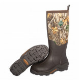 Muck Regenlaars men woody max orange lining brown rt edge-schoenmaat 42