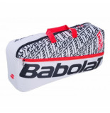 Babolat Tennistas duffle medium pure strike white red 2020