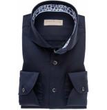 John Miller Heren overhemd donkerblauw cutaway tailored fit