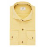 Van Gils Heren overhemd extren washed linnen slim fit