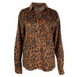 Colourful Rebel Blouse 9053 lean leopard
