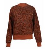 Colourful Rebel Sweatshirt 9216 leopard