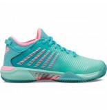K-Swiss Tennisschoen k-swiss women hypercourt supreme hb blue pink-schoenmaat 40