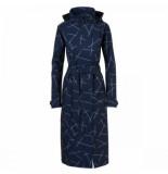 AGU Regenjas women urban outdoor trench coat navy blue-s