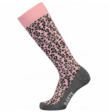 Barts Skisok women animal print pink-schoenmaat 39 42