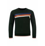 Common Heroes Sweater flessengroen voor jongens in de kleur