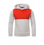 Common Heroes Hoody off/white melee/oranje voor jongens in de kleur