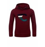 Common Heroes Bordeaux hoodie voor jongens in de kleur