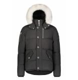 Moose Knuckles 3q jacket zwart/wit