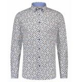 Scotland Blue Dress hemd 20307wi30sb