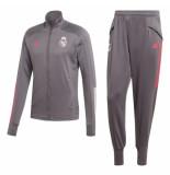 Adidas Real madrid trainingspak 2020-2021 kids grey