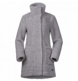 Bergans Jas women oslo wool loosefit grey mel-s