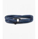 Pig & Hen P30-fw20-262822 armband salty slim violet blue - slate gray | black