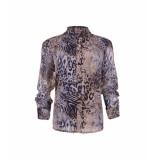 MAICAZZ Paris blouse fa20.20.003 blue nature