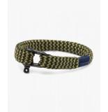 Pig & Hen P07-fw20-253542 armband sharp simon army - reed green | black