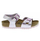Birkenstock Rio electric metallic lilac narrow birko-flor