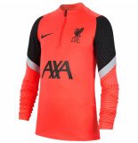 Nike Liverpool fc drill top 2020-2021 kids crimson