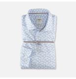 Olymp 356254 00 wit tricot level 5 stretch overhemd -