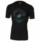 Castelli T-shirt men armando vintage black-xs