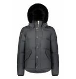 Moose Knuckles 3q jacket antraciet grijs/zwart