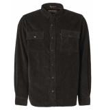 Noize Shirt, l/s, overshirt, big pockets asphalt