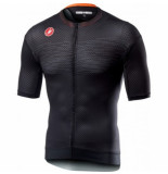 Castelli Fietsshirt men insider jersey light black-l