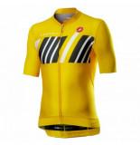 Castelli Fietsshirt men hors categorie jersey yellow-xxl