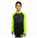 Nike Dri-fit academy drill top kids black volt