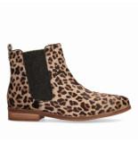 Maruti Passoa Hairon-gum Leopard Boots