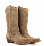 Dwrs High texas boot taupe